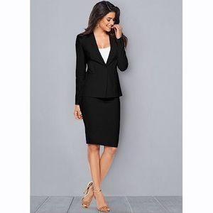 Style & Co. Black Suit Blazer 8 US + Skirt size 10